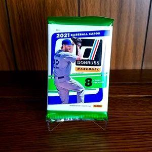 2021 Donruss baseball cards packs ( 1 )